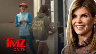 Lori Loughlin And Daughter Isabella Shopping During College Admission Scandal | TMZ TV
