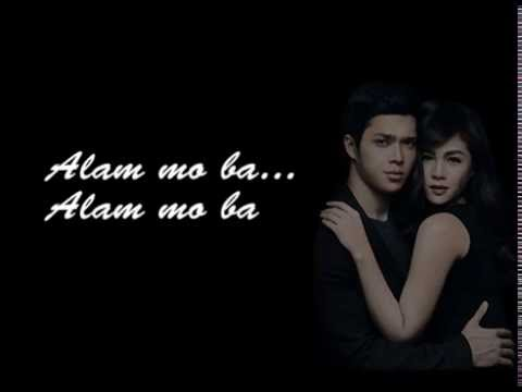 Alam Mo Ba - Elmo Magalon ft. Janella Salvador (Elnella) Lyrics