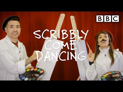 Strictly's hilarious drawing challenge 🤭😂 - Scribbly Come Dancing - Week 4   BBC Strictly 2019