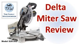 Delta Miter Saw Reviewed!