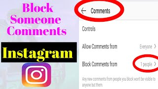 How to Delete Someone Comment On Instagram post   Disable Someone comments on instagram   Instagram
