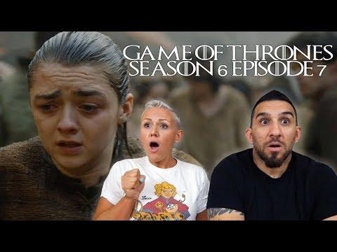 Game of Thrones Season 6 Episode 7 'The Broken Man' REACTION!!