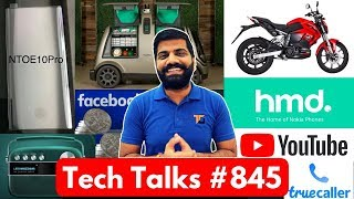 Tech Talks #845 - Facebook Wallet, Xiaomi CC9, Truecaller VOIP, Samsung Dual Display, Revolt Bike