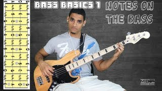 Bass Basics 1: The notes on the Bass