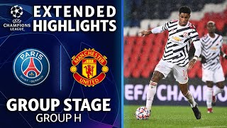 Paris Saint-Germain vs. Manchester United: Extended Highlights | UCL on CBS تحميل MP3