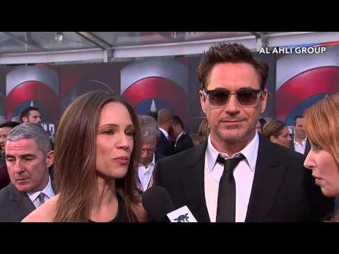 Chris Evans and Robert Downey Jr. Talk Team Cap and Team Iron Man