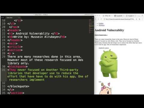 5- HTML5||  Cites