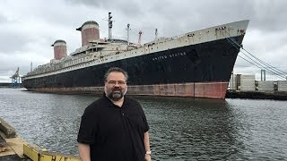 "VIDEO: ""Cruising Authority"" visits the SS United States"