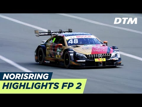 Highlights & Results Free Practice 2 - DTM Norisring 2018