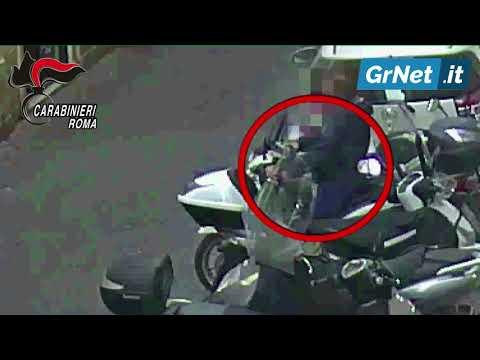 """Roma: rubavano """"Honda SH"""" in pochi secondi, inchiodati dalle telecamere dei Carabinieri"""