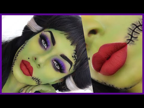 LADY FRANKEINSTEIN  MAKEUP / HALLOWEEN TUTORIAL