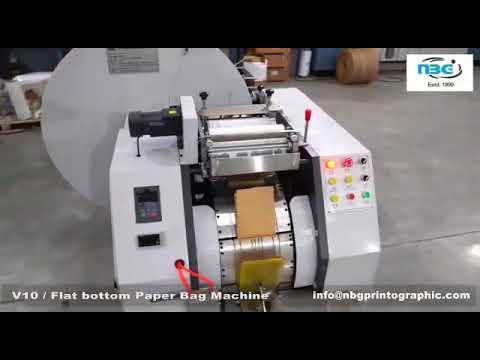 V14 Paper Bag Making Machine
