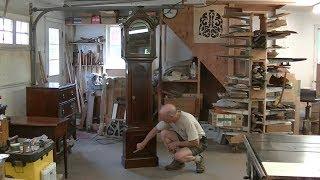 Radius Molding for an Antique Tall-case Clock