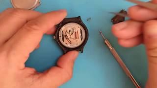 restoration  of Casio mw-59 watch