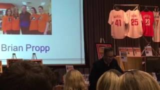 BRIAN PROPP WCRE & MAGEE REHABILITATION SPRING 2016 NIGHT OF CHAMPIONS EVENT