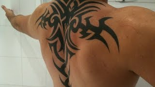 Tribal Tattoo Designs For Men On Back