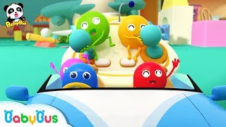 Learn Colors with Chocolate Candies | Colors Song, Ice Cream | Nursery Rhymes | Kids Songs | BabyBus