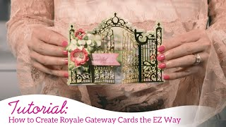 How to Create Royale Gateway Cards the EZ Way