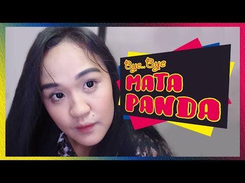 Mask eyelids at mukha ng gulaman at