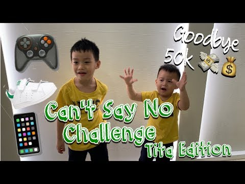 Cant say no challenge