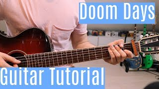 Doom Days   Bastille | Guitar TutorialLesson | Easy How To Play (Chords + Melody)