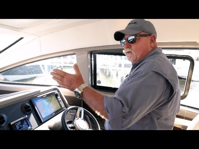 Boating Tips Episode 25: Cummins Inboard Joystick on Sport Yacht