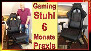 Dowinx Gaming Stuhl ✔ 6 Monate Praxis [ Gamer Stuhl als Bürostuhl ] Dowinx Gaming Homeoffice TopTipp