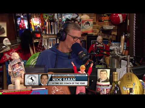 Nick Saban Reveals His Level of Interest in Today's Solar Eclipse | The Dan Patrick Show | 8/21/17