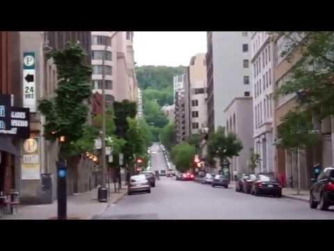 Пешие прогулки по городу Монреаль в Кана
