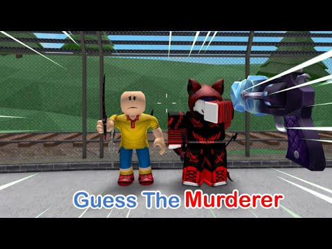 MM2 Guess the MURDERER for a FREE GODLY #2