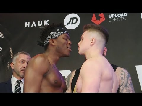 KSI vs WELLER WEIGH IN / PRESS CONFERENCE (Behind The Scenes Vlog)