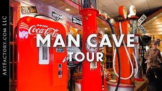 Man Cave Tour (Vintage Signs, Petroliana, & American Restorations)