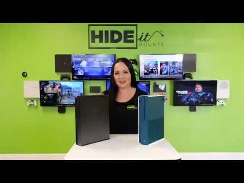 HIDEIt Xbox One S and Xbox One X Mounts