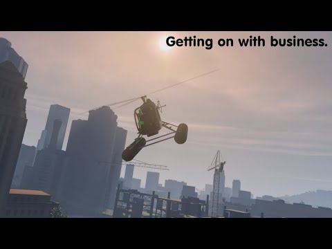 Getting on with business in GTA Online 2/8/19