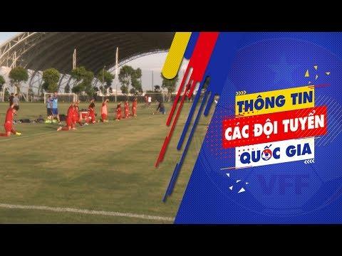 U22 Việt Nam hứng khởi trong ngày đầu tập luyện tại PVF