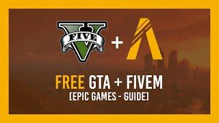 How to: GTA V Free + FiveM Setup Guide | Epic Games - Giveaway