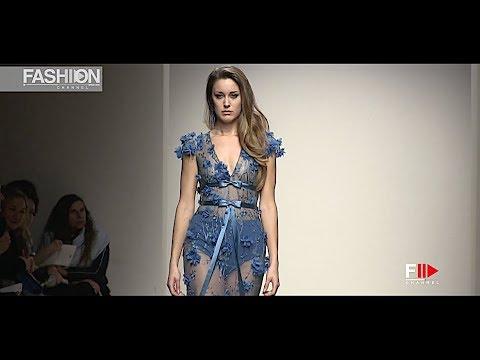 DANIELA DANESI International Couture ALTAROMA Spring 2019 Rome - Fashion Channe