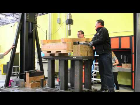 Fastener Strength Test in Wooden Crates for Shipping