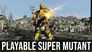 Fallout 3 Mod - Playable Super Mutant Race