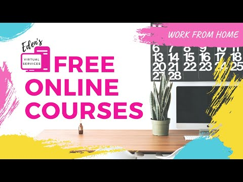 2021 Free Online Training/Courses | How to be a Virtual Assistant ...