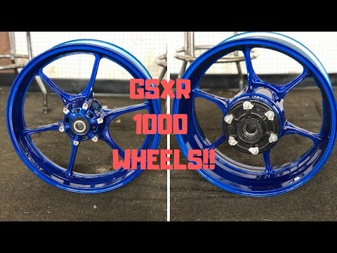 2017 Suzuki Gsxr 1000 Mods EP 1 - 🆕 WHEELS‼️
