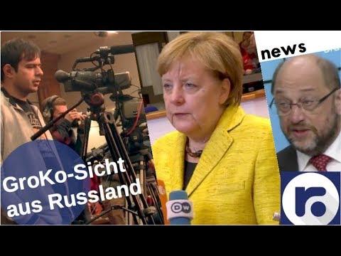 Russische Experten zur GroKo [Video]