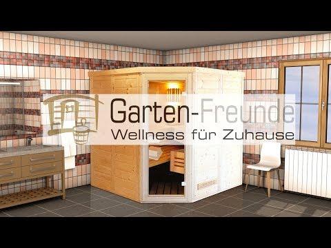 Garten-Freunde - Sauna, Heimsauna, Saunakabine bei Gartenfreunde Shop GmbH