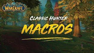 wow classic beta hunter macros - Thủ thuật máy tính - Chia sẽ kinh