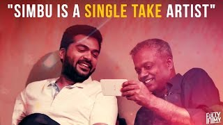 """Simbu is a single take artist"" -  Fully Frank with Gautham Vasudev Menon | Part 1 | Fully Filmy"
