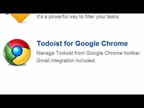 Todoist For Chrome Integrates Task Management Into The Toolbar