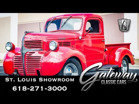 Video of '45 Dodge Pickup located in Illinois Offered by Gateway Classic Cars - St. Louis - QB7O