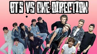 BTS vs One Direction !!!