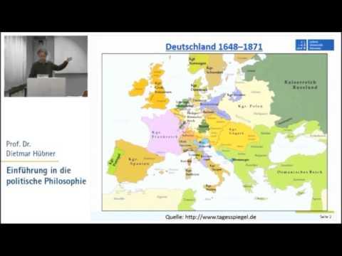 Politische Philosophie 7: Aufklärung 2 - Kant, Hegel