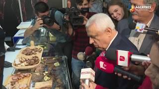 Daea, la deschiderea magazinului Casei de Comerţ Agroalimentar ''Unirea'' din Bucureşti